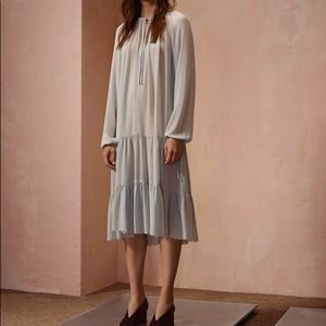 Aritzia Wilfred Le Fou Silk Dress